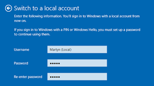 how to set up windows 10 without a microsoft account tech advisor
