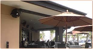 outdoor oscillating fans patio outdoor patio fans wall mount creative ideas wall mounted patio fans