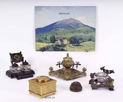 Japanese Desk Accessories by Hap Moore Antiques Auctions January 27 2007