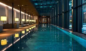Indoor Pools Luxury Swiss Hotel The Chedi Andermatt Hotel Ski Resort