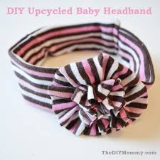 baby headband diy sew an upcycled baby headband the diy
