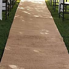 burlap wedding aisle runner burlap wedding aisle runner 36 inch x 100 ft rustic