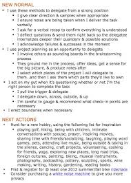 session notes appointment notes next actions new