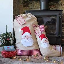 personalised santa sack large by the