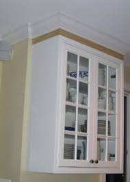 Kitchen Crown Moulding Ideas Add Crown Molding Cabinet How To Add Crown Molding To Kitchen