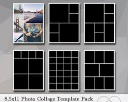 8 5x11 photo album template pack 20 templates photo collage