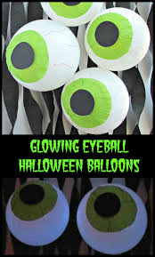 halloween baloons glowing eyeball halloween balloons val event gal