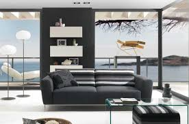 Black Living Room Modern Interior Design For Modern Minimalist Home Amaza Design