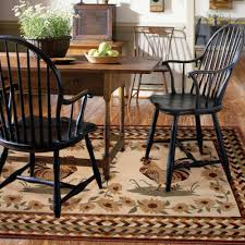 Rooster Area Rug Better Homes U0026gardens Rooster Braid Spanish Red 6 U00277