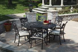 White Cast Iron Patio Furniture Nice Cast Iron Patio Furniture Wrought Dining Table Home Design
