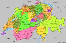 Switzerland World Map by Map Of Switzerland Swisskarte Ch