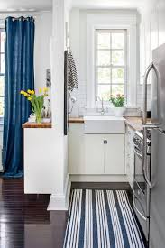 White And Blue Kitchen - tiny kitchen inspiration that you u0027ll want to pin southern living