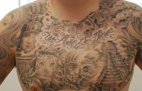 graffiti tattoo u2013 chest piece design for men tattooshunter com