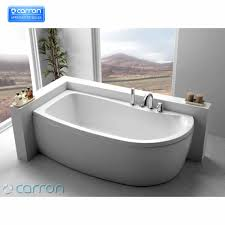 carron agenda 1700 x 700mm corner offset shower bath bathroom