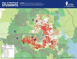 Map Of Houston Texas Texas Districts 2010 2015 Largest Fast Growth A Useful Map
