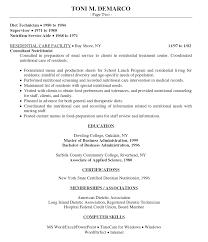 food service resumes food service resume exles exles of resumes