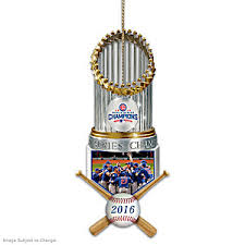 mlb licensed chicago cubs 2016 world series chions ornament