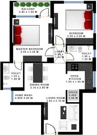 Home Design 3d 2 Bhk 800 Sq Ft Apartment Floor Plan 3d July 2014 Kerala Home Design