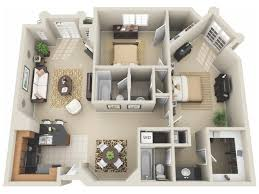 Two Bedroom Apartment Design Ideas Impressive Inspiration 2 Bedroom Apartments In Los Angeles