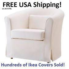 White Armchair Slipcover White Furniture Slipcovers Ebay