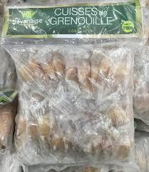 cuisiner cuisses de grenouilles surgel馥s cuisses de grenouille congelées nc 800 g