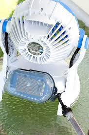 battery operated misting fan arctic cove 18v bucket top misting fan review water hose