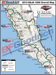 Baja Map Baja Racing News Live Live Baja 1000 2015 November 16 21 2015