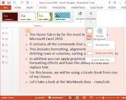 tutorial powerpoint design ms office 2013 powerpoint tutorial learn ms powerpoint it