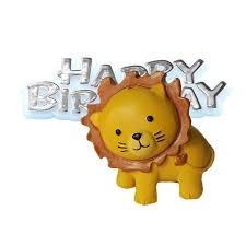 lion cake topper morrisons anniversary house resin lion cake topper motto