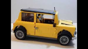 custom lego mini cooper endtalk u0027s lego mini cooper modifications youtube