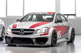 mercedes cla45 amg mercedes 45 amg racing series concept previewed autocar