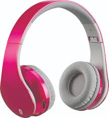 Color Pink by Fye Soundaura Soundaura Bluetooth Headphone Pink
