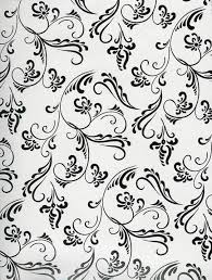 black and white wrapping paper wrapping paper baroque pattern paper black and white a unique