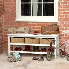 Storage Bench With Baskets Hall Storage Bench With Baskets Storage Benches With Baskets 144