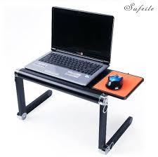 ordinateur portable ou de bureau sufeile mode bureau d ordinateur portable 360 degrés réglable pour