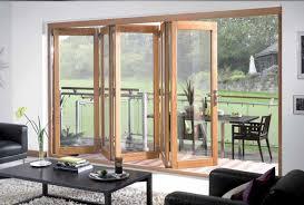 Sliding Wood Patio Doors Tri Fold Doors External Folding Sliding Exterior Doors