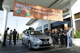 nissan almera vs vios nissan almera owners take part in the lightfoot quest fuel