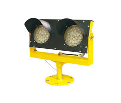solar powered runway lights solar led elevated runway guard light avlite systems