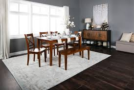 wendy carmel rectangle dining table living spaces