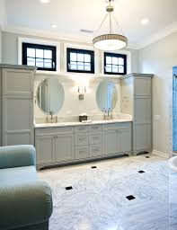 oval mirror technique charleston traditional bathroom image ideas