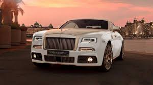 rolls royce wraith 2016 yes mansory has added gold and power to the rolls royce wraith