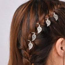 feather hair accessories 5 feather hair rings set hair accessories festival hair
