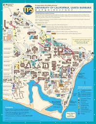 University Of San Diego Campus Map by Department Of Chemistry Uc Santa Barbara