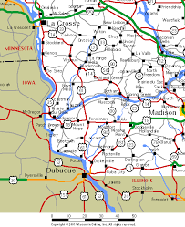 map of southwest wisconsin maps southwest wisconsin roads and highways