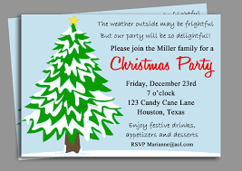 christmas party invitations ideas with blue background colors and