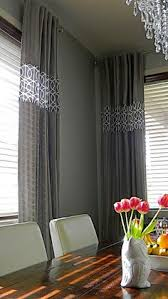 love the sheer curtain underneath and solid curtain on top layer