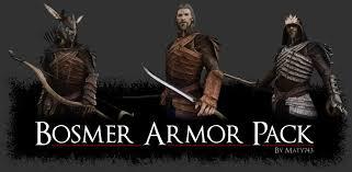 Skyrim Light Armor Mods Bosmer Armor Pack The Elder Scrolls Mods Wiki Fandom Powered