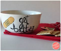 get well soon soup diy chicken soup bowl for a get well soon gift basket