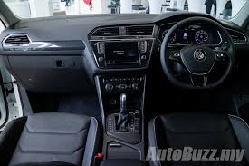 volkswagen tiguan interior 2017 volkswagen tiguan previewed in malaysia 1 4l tsi from
