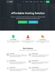 free template for website with login page 55 excellent web hosting website templates with professional look flathost responsive hosting template with whmcs